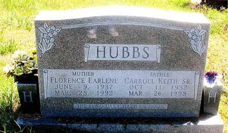 HUBBS, FLORENCE EARLENE - Carroll County, Arkansas | FLORENCE EARLENE HUBBS - Arkansas Gravestone Photos