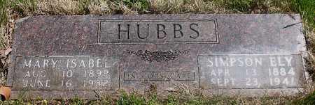 HUBBS, MARY ISABEL - Carroll County, Arkansas | MARY ISABEL HUBBS - Arkansas Gravestone Photos