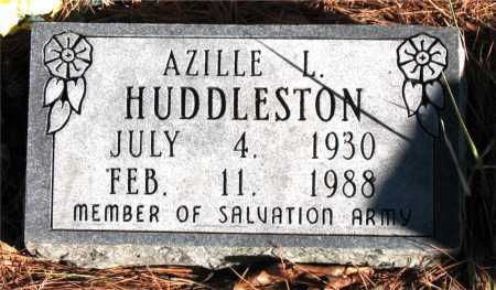 HUDDLETON, AZILLE L. - Carroll County, Arkansas | AZILLE L. HUDDLETON - Arkansas Gravestone Photos