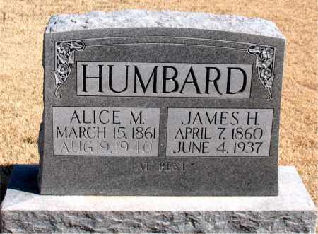 HUMBARD, JAMES  H. - Carroll County, Arkansas | JAMES  H. HUMBARD - Arkansas Gravestone Photos