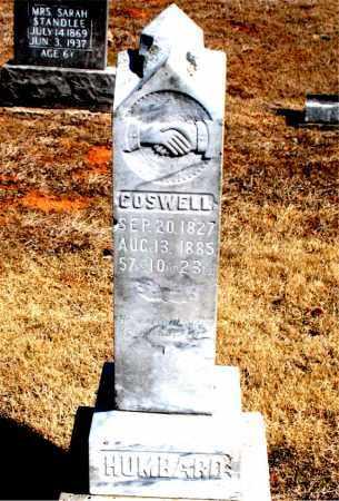 HUMBARD, COSWELL - Carroll County, Arkansas | COSWELL HUMBARD - Arkansas Gravestone Photos
