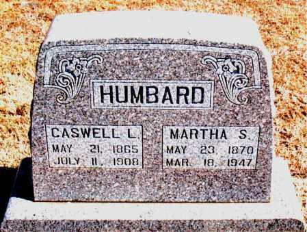 HUMBARD, CASWELL  L. - Carroll County, Arkansas   CASWELL  L. HUMBARD - Arkansas Gravestone Photos