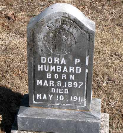 HUMBARD, DORA  P. - Carroll County, Arkansas | DORA  P. HUMBARD - Arkansas Gravestone Photos