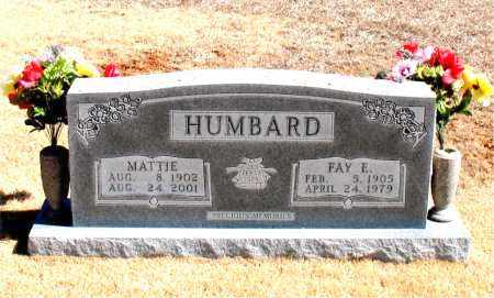HUMBARD, MATTIE - Carroll County, Arkansas | MATTIE HUMBARD - Arkansas Gravestone Photos
