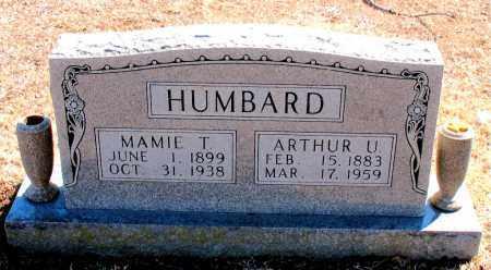HUMBARD, ARTHUR U. - Carroll County, Arkansas | ARTHUR U. HUMBARD - Arkansas Gravestone Photos