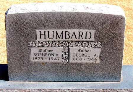 HUMBARD, SOPHRONIA - Carroll County, Arkansas | SOPHRONIA HUMBARD - Arkansas Gravestone Photos