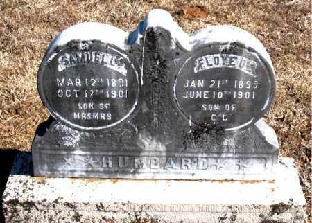 HUMBARD, FLOYED - Carroll County, Arkansas | FLOYED HUMBARD - Arkansas Gravestone Photos