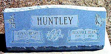 HUNTLEY, THOMAS HENRY - Carroll County, Arkansas | THOMAS HENRY HUNTLEY - Arkansas Gravestone Photos