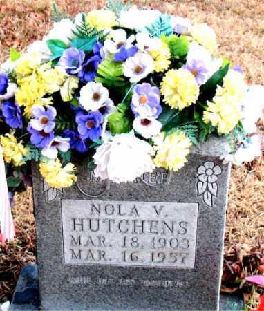 HUTCHENS, NOLA V. - Carroll County, Arkansas   NOLA V. HUTCHENS - Arkansas Gravestone Photos