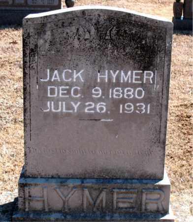 HYMER, JACK - Carroll County, Arkansas | JACK HYMER - Arkansas Gravestone Photos