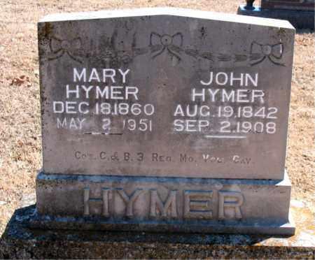 HYMER, JOHN - Carroll County, Arkansas | JOHN HYMER - Arkansas Gravestone Photos