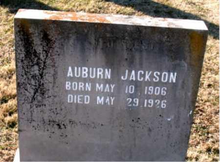 JACKSON, AUBURN - Carroll County, Arkansas | AUBURN JACKSON - Arkansas Gravestone Photos