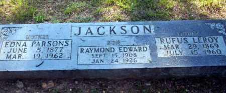 PARSONS JACKSON, EDNA - Carroll County, Arkansas | EDNA PARSONS JACKSON - Arkansas Gravestone Photos