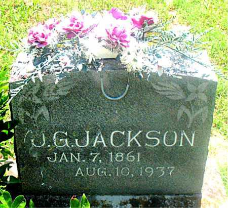 JACKSON, JOHN GARGNER - Carroll County, Arkansas | JOHN GARGNER JACKSON - Arkansas Gravestone Photos