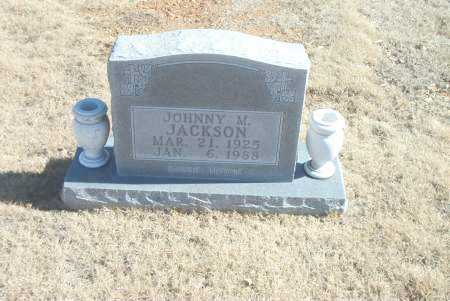 JACKSON, JOHNNY  M. - Carroll County, Arkansas | JOHNNY  M. JACKSON - Arkansas Gravestone Photos