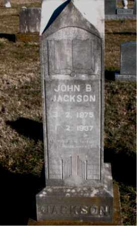 JACKSON, JOHN  B. - Carroll County, Arkansas   JOHN  B. JACKSON - Arkansas Gravestone Photos