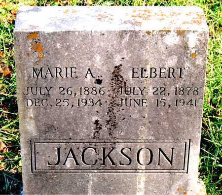 JACKSON, ELBERT - Carroll County, Arkansas | ELBERT JACKSON - Arkansas Gravestone Photos