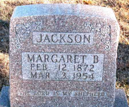 JACKSON, MARGARET B. - Carroll County, Arkansas | MARGARET B. JACKSON - Arkansas Gravestone Photos