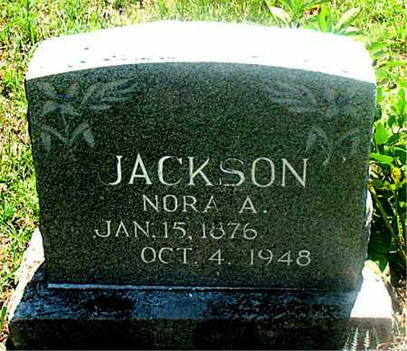 JACKSON, NORA ANN - Carroll County, Arkansas | NORA ANN JACKSON - Arkansas Gravestone Photos