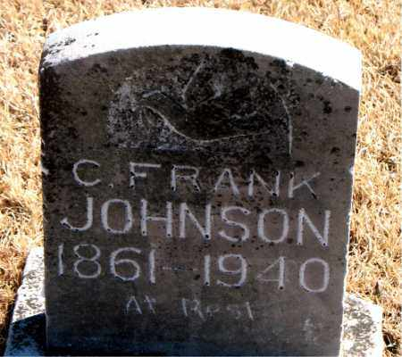 JOHNSON, C. FRANK - Carroll County, Arkansas | C. FRANK JOHNSON - Arkansas Gravestone Photos