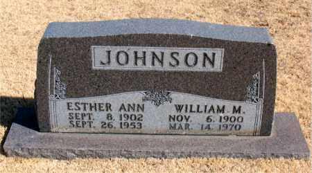 JOHNSON, ESTHER ANN - Carroll County, Arkansas | ESTHER ANN JOHNSON - Arkansas Gravestone Photos