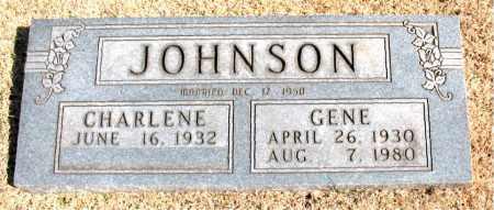 JOHNSON, GENE - Carroll County, Arkansas   GENE JOHNSON - Arkansas Gravestone Photos