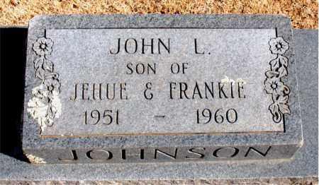 JOHNSON, JOHN  L, - Carroll County, Arkansas | JOHN  L, JOHNSON - Arkansas Gravestone Photos