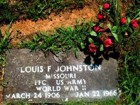 JOHNSON (VETERAN WWII), LOUIS F - Carroll County, Arkansas | LOUIS F JOHNSON (VETERAN WWII) - Arkansas Gravestone Photos