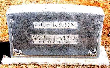 JOHNSON, JOHN L. - Carroll County, Arkansas   JOHN L. JOHNSON - Arkansas Gravestone Photos