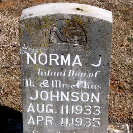 JOHNSON, NORMA J. - Carroll County, Arkansas | NORMA J. JOHNSON - Arkansas Gravestone Photos
