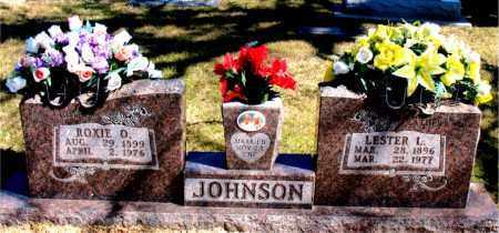 JOHNSON, ROXIE D. - Carroll County, Arkansas | ROXIE D. JOHNSON - Arkansas Gravestone Photos