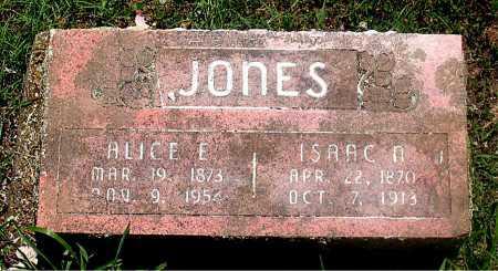 RUSSELL JONES, ALICE - Carroll County, Arkansas | ALICE RUSSELL JONES - Arkansas Gravestone Photos