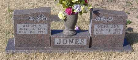 JONES, ALLEN S - Carroll County, Arkansas | ALLEN S JONES - Arkansas Gravestone Photos