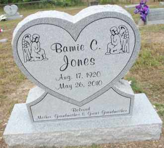 JONES, BAMIE CASTINE - Carroll County, Arkansas | BAMIE CASTINE JONES - Arkansas Gravestone Photos