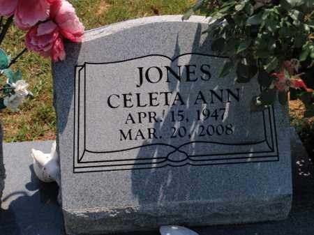 JONES, CELETA ANN - Carroll County, Arkansas   CELETA ANN JONES - Arkansas Gravestone Photos