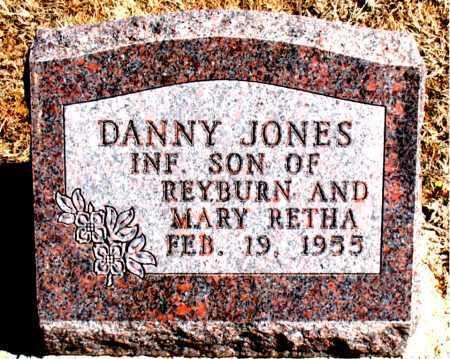 JONES, DANNY - Carroll County, Arkansas | DANNY JONES - Arkansas Gravestone Photos