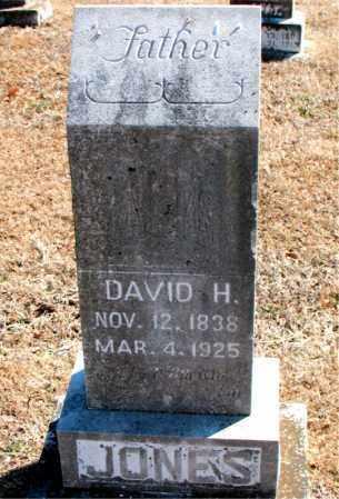 JONES, DAVID H. - Carroll County, Arkansas   DAVID H. JONES - Arkansas Gravestone Photos