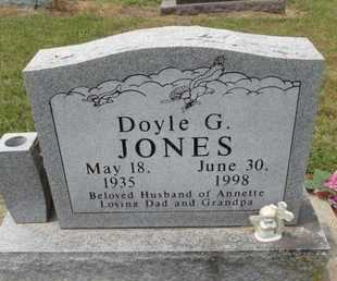 JONES, DOYLE G - Carroll County, Arkansas | DOYLE G JONES - Arkansas Gravestone Photos
