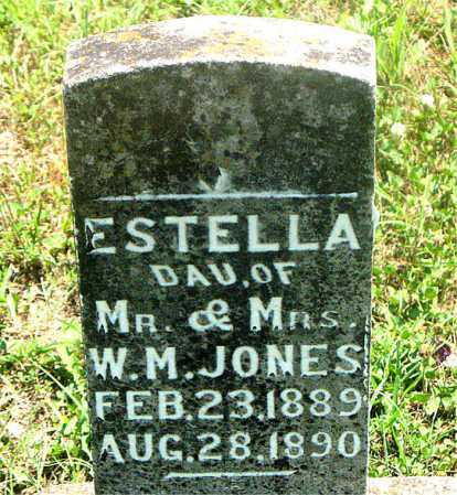JONES, ESTELLA - Carroll County, Arkansas | ESTELLA JONES - Arkansas Gravestone Photos