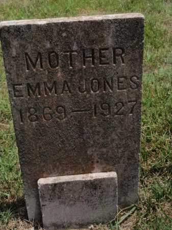 JONES, EMMA - Carroll County, Arkansas | EMMA JONES - Arkansas Gravestone Photos