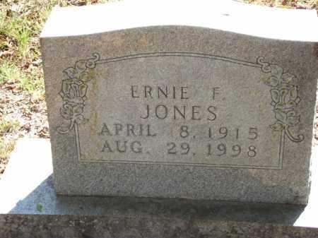 JONES, ERNIE F - Carroll County, Arkansas | ERNIE F JONES - Arkansas Gravestone Photos