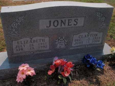 JONES, ELIZABETH - Carroll County, Arkansas   ELIZABETH JONES - Arkansas Gravestone Photos