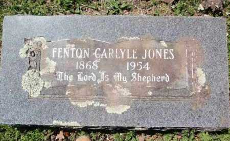JONES, FENTON CARLYLE - Carroll County, Arkansas | FENTON CARLYLE JONES - Arkansas Gravestone Photos