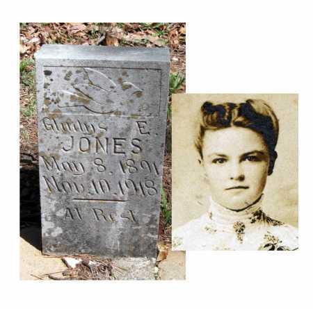 JONES, GLADYS EUREKA - Carroll County, Arkansas   GLADYS EUREKA JONES - Arkansas Gravestone Photos