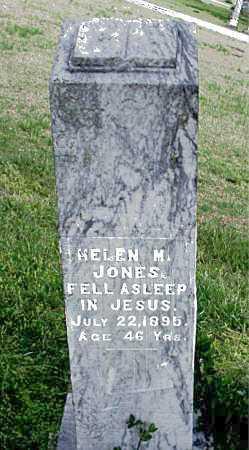 JONES, HELEN M. - Carroll County, Arkansas | HELEN M. JONES - Arkansas Gravestone Photos