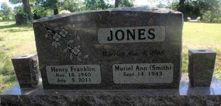 JONES, HENRY FRANKLIN - Carroll County, Arkansas | HENRY FRANKLIN JONES - Arkansas Gravestone Photos