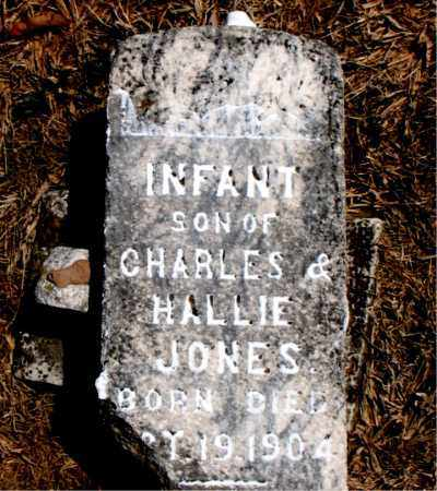 JONES, INFANT SON - Carroll County, Arkansas   INFANT SON JONES - Arkansas Gravestone Photos