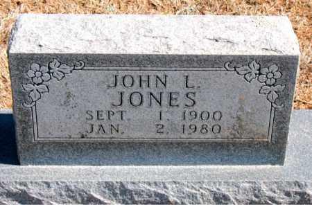 JONES, JOHN L. - Carroll County, Arkansas | JOHN L. JONES - Arkansas Gravestone Photos