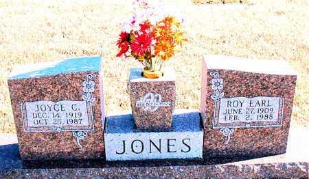 JONES, ROY EARL - Carroll County, Arkansas | ROY EARL JONES - Arkansas Gravestone Photos