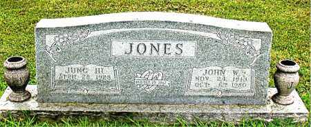 JONES, JOHN  W - Carroll County, Arkansas | JOHN  W JONES - Arkansas Gravestone Photos